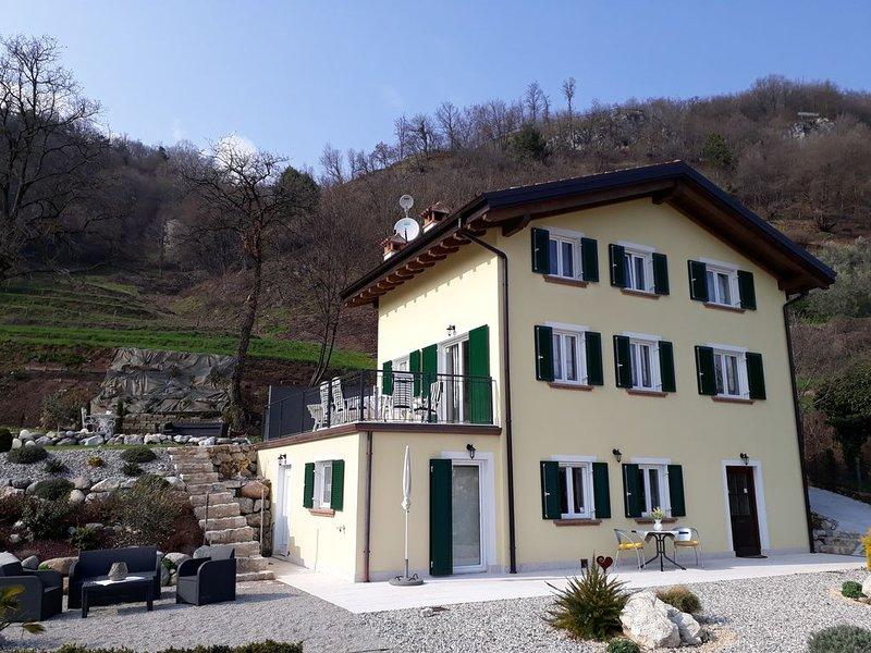 Ferienwohnung Italien Nähe Limone, Gardasee zum Baden, Mountainbike und Wandern, holiday rental in Gardola