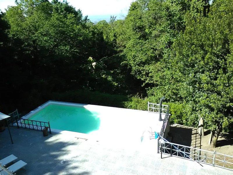 """una """"casa vacanza"""" davvero esclusiva nel Parco dei Castelli Romani"""
