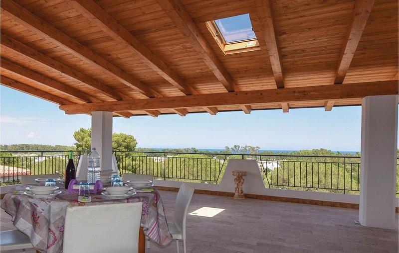 2 Zimmer Unterkunft in Sant'Andrea Apostolo, holiday rental in Davoli
