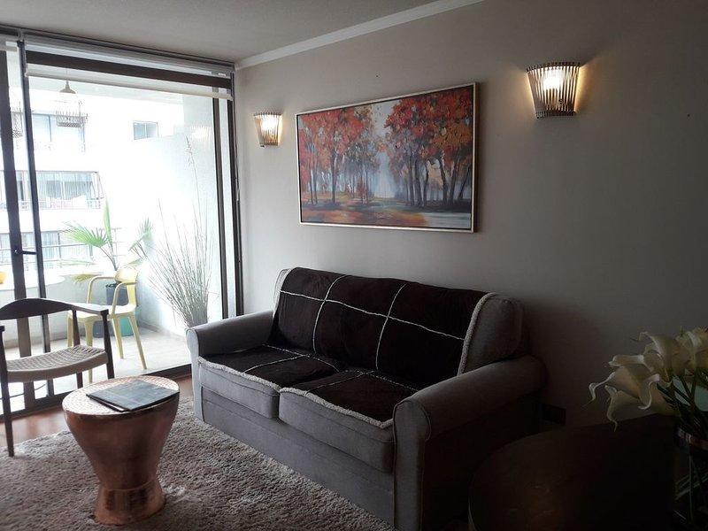 Departamento nuevo. Recién amoblado. Ideal para extranjeros, turistas y negocios, holiday rental in Villa Alemana