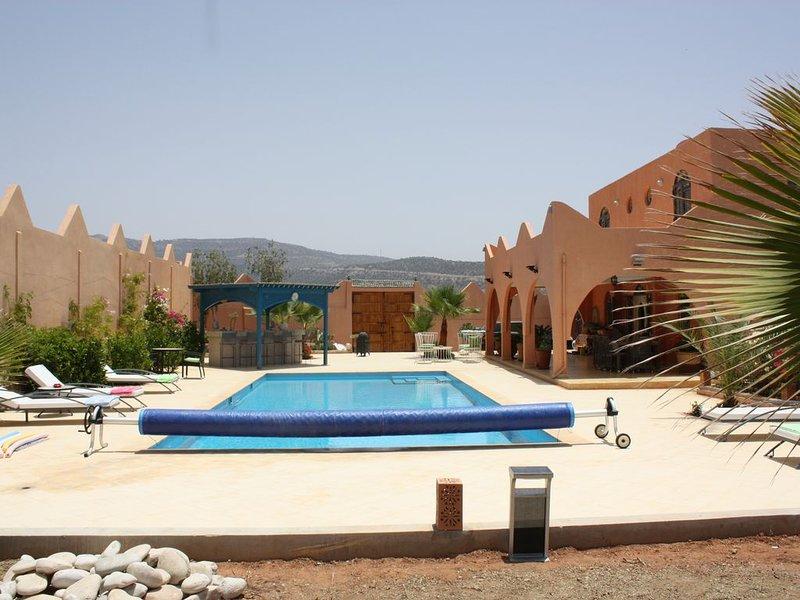 Appartement dans propriété neuve, location de vacances à Tamraght