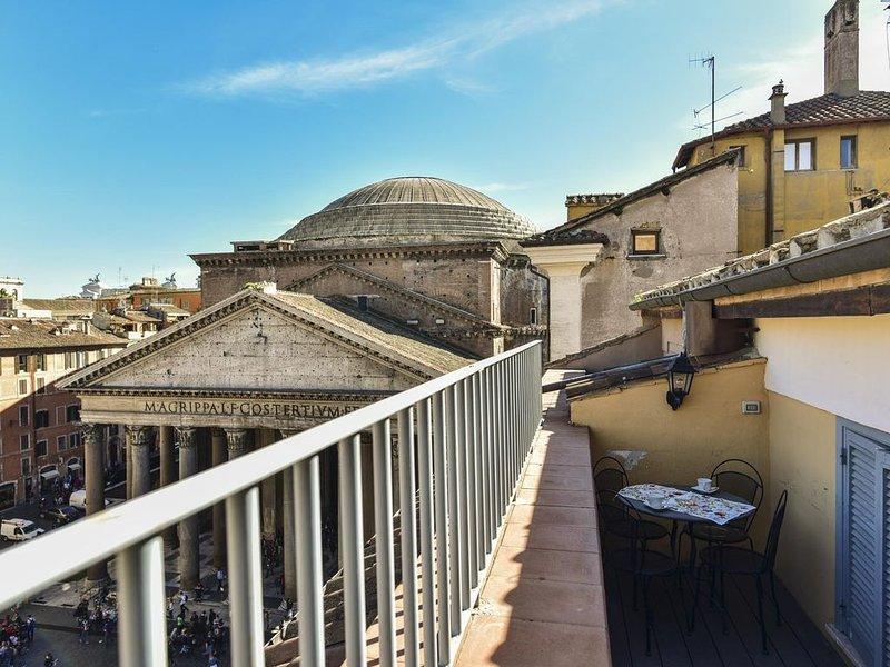 Fantastica Terrazza con Vista sul Pantheon, holiday rental in Ladispoli