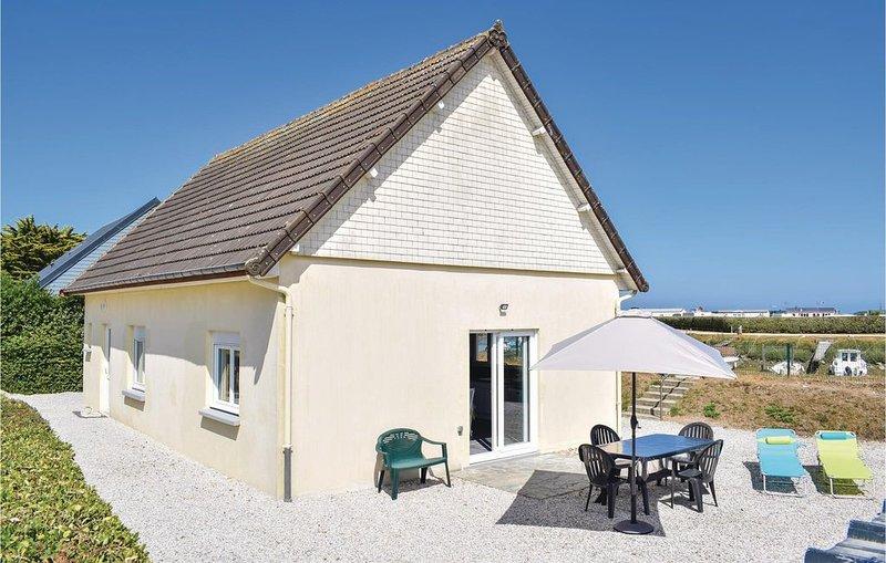 2 Zimmer Unterkunft in Lestre, casa vacanza a Saint-Floxel