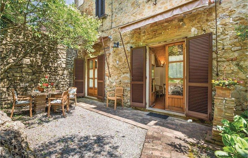2 Zimmer Unterkunft in Volterra (PI), casa vacanza a Montaperti