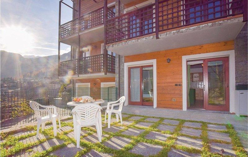 1 Zimmer Unterkunft in Chiesa in Valmalenco, alquiler vacacional en Postalesio