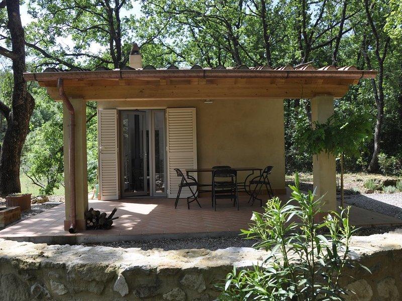 Casa romantica in piena natura!, holiday rental in Montescudaio