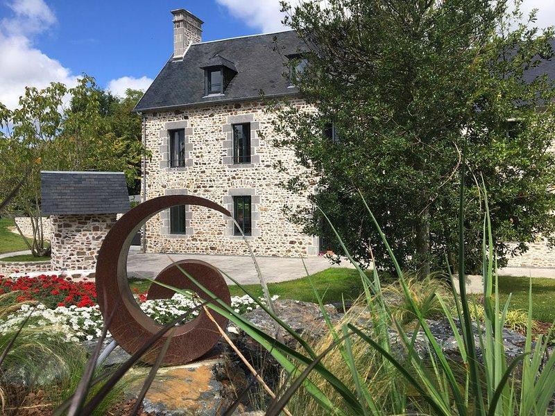 Clos L'Abbé***** Piscine & Spa | Demeure de Prestige | Mt St Michel, Granville, holiday rental in Cerisy-la-Salle