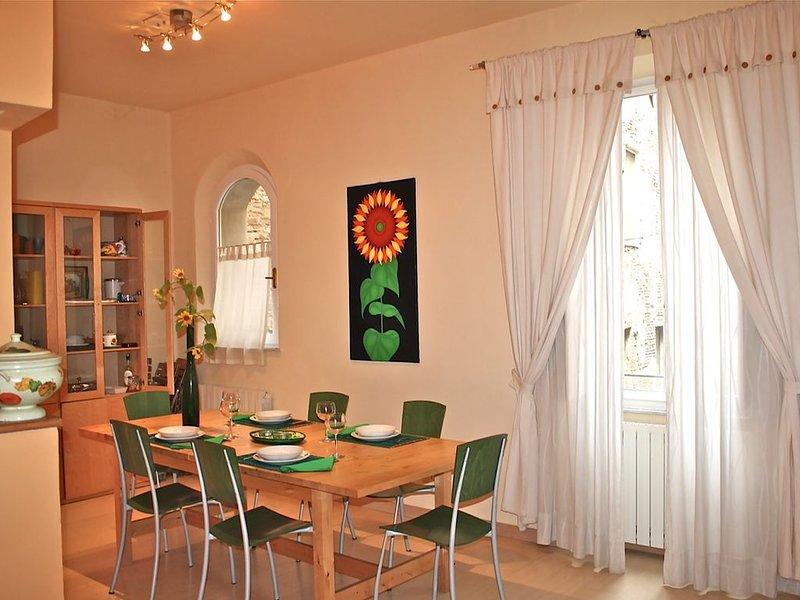 SAN DOMENICO HOUSE - Two Bedroom Apartment, Sleeps 5, holiday rental in Moltacino