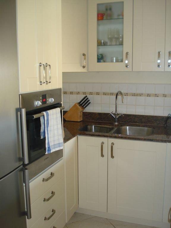 Kitchen view from Hallway
