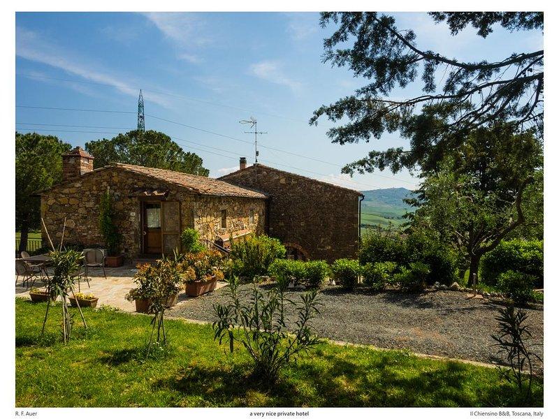 Il Chiesino appartamento 'I Cipressi, holiday rental in Montecatini Val di Cecina