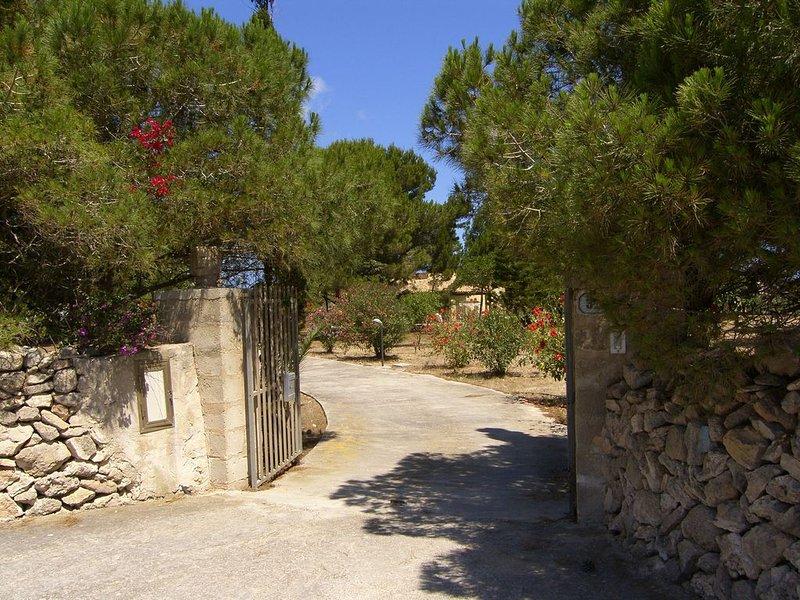 Casa dell'Agave per 6 persone, holiday rental in Favignana