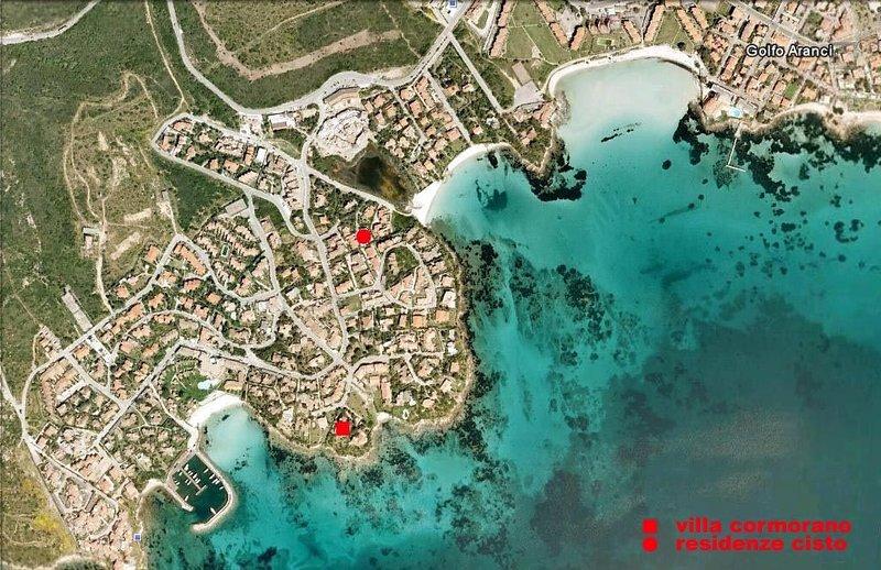 'VILLA CORMORANO' APPARTAMENTO VISTA MARE 'MIMOSE', holiday rental in Golfo Aranci