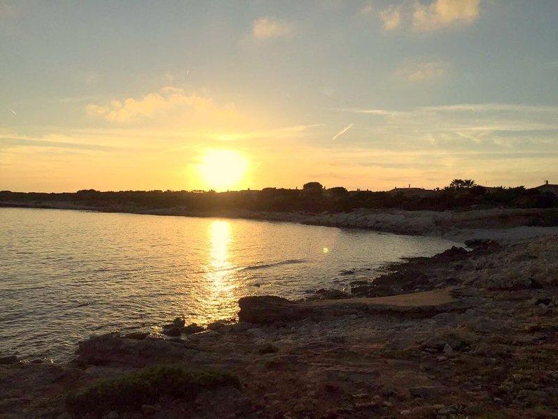The Mini Capo Bay at sunset