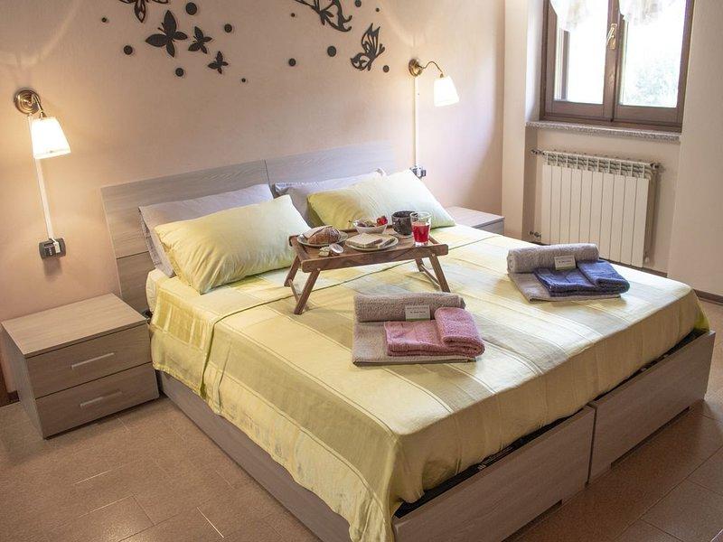 bnb Spina Verde, un'oasi di pace a due passi da Como, holiday rental in San Fermo della Battaglia