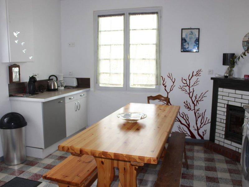 Maison à 15min des plages à pieds, holiday rental in Jard-sur-Mer