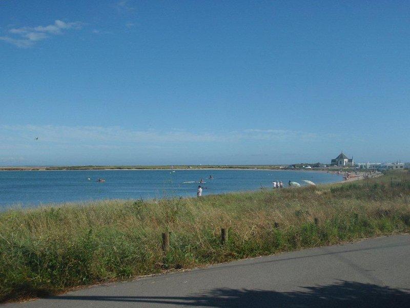 Maison vue mer, les pieds dans l eau et de la plage, casa vacanza a Sarzeau