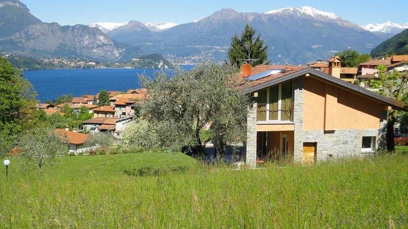 jardín sur y lago Como
