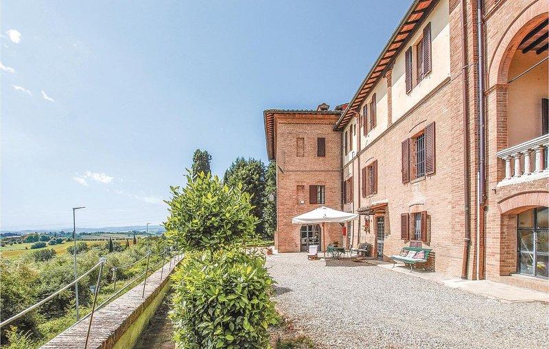 1 Zimmer Unterkunft in Siena -SI-, vacation rental in San Rocco a Pilli