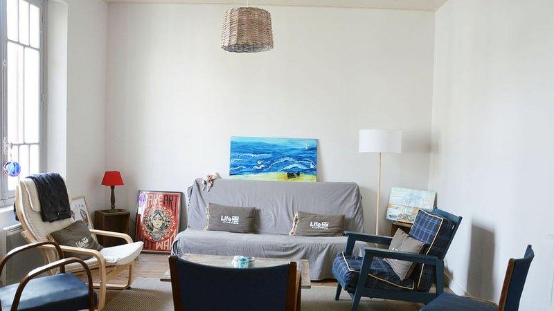 Maison Geyfra, quartier des Demoiselles, tout à pied, 4 chambres, idéale famille, vacation rental in Saint-Jean-de-Monts