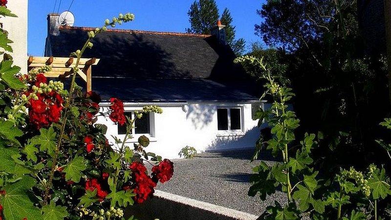 maison de pêcheur , 100m de la mer,wifi,parking,jardin, vacation rental in Tredrez-Locquemeau