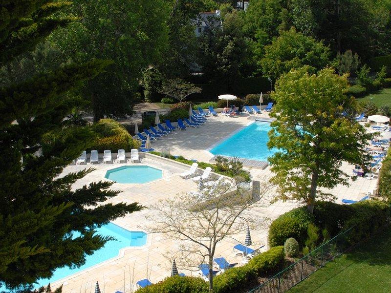 Appartement T3 lumineux   avec piscine chauffée     à 300m de la plage, holiday rental in Saint Andre des Eaux
