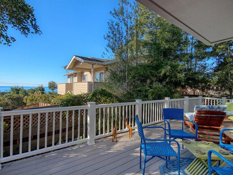 Peaceful & Charming Cambria Beach Home With Ocean View Deck, alquiler vacacional en Cambria