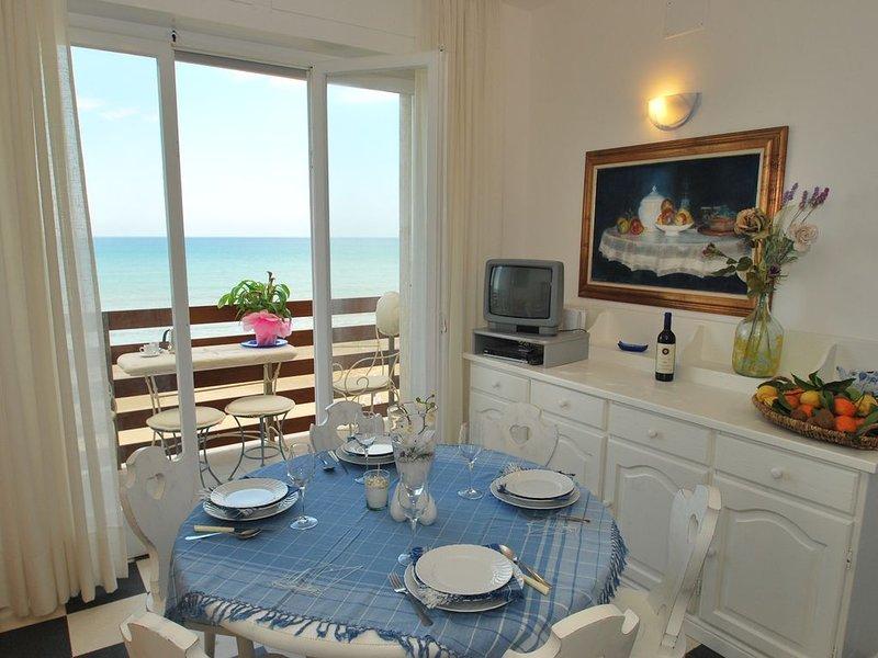 Bezaubernder Meerblick und 2 Terrassen, Ferienwohnung am Meer, vacation rental in Castagneto Carducci
