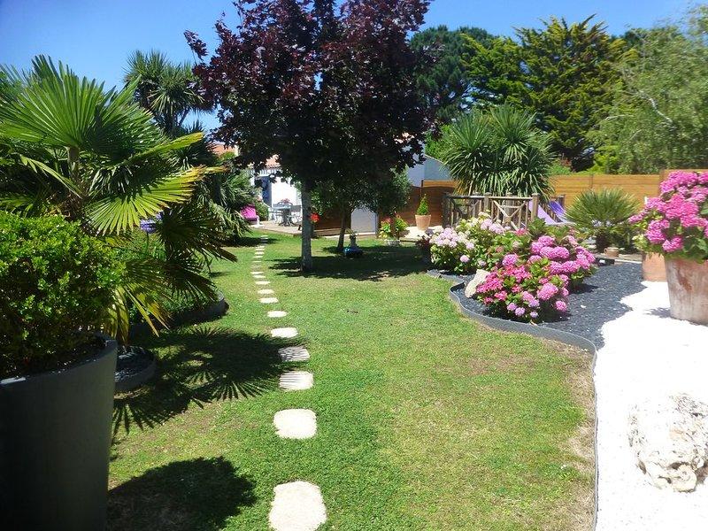 Le calme à 300m de la plage de Boisvinet à St Gilles Croix de Vie, location de vacances à Saint-Gilles-Croix-de-Vie
