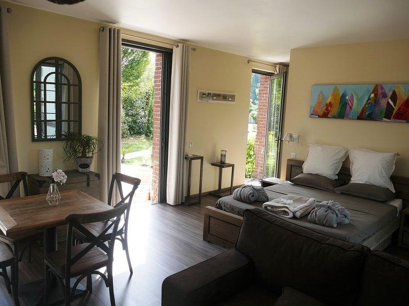Gîte 'LE TREPORT' - Villa Argonne, holiday rental in Quiberville