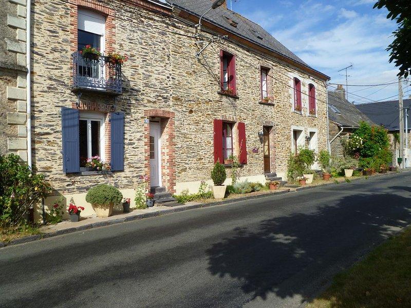 Maison de vacances entre Anjou & Bretagne, casa vacanza a Erbray