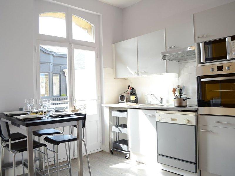 Refait à neuf -  Appartement 50m de la Plage - Hyper Centre Dinard, vacation rental in Dinard