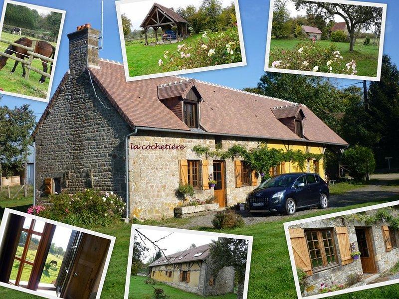 Gite de ''caractere'' typique dans un environnement calme et naturel, randonnees, vacation rental in Fontenai-sur-Orne