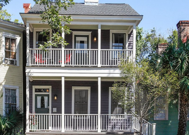 Exterior - Located in the heart of the Victorian District. Access your rental with a keyless door code (no need to pick up keys).