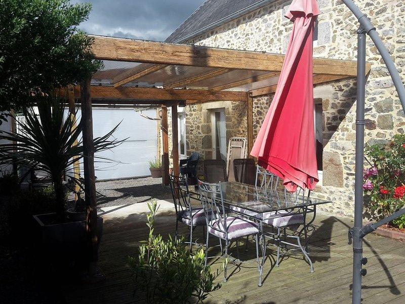 Gîte de l'Aubellerie - Ancteville - 3 chambres, location de vacances à Saint-Michel-de-la-Pierre