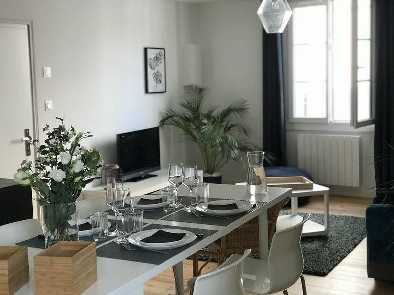 Appartement T2 au coeur du centre historique Vannetais, holiday rental in Saint-Ave