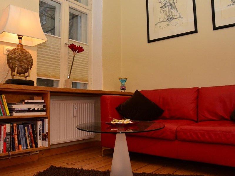 Zentral gelegen - stilvolles Appartment mit iMac + WLAN, location de vacances à Berlin