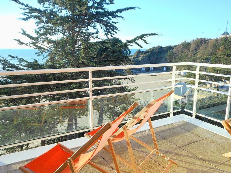 Bel appartement face à la mer pour 2/4 personnes, vacation rental in Erquy