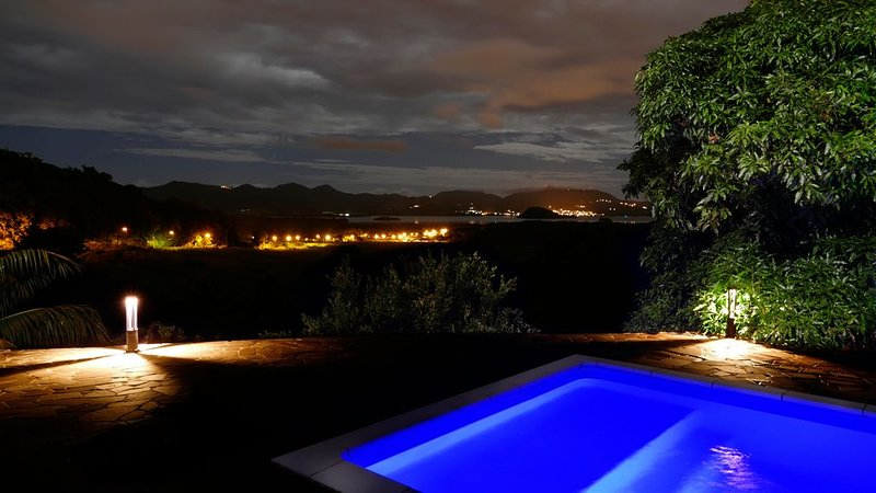 A small midnight bath at 30 ° Celcius all year round, do you like it?