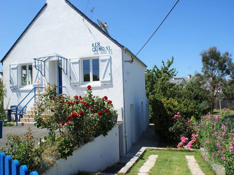 MAISON & JARDIN CLOS AU CALME : 5 MN A PIED DES PLAGES, location de vacances à Morieux
