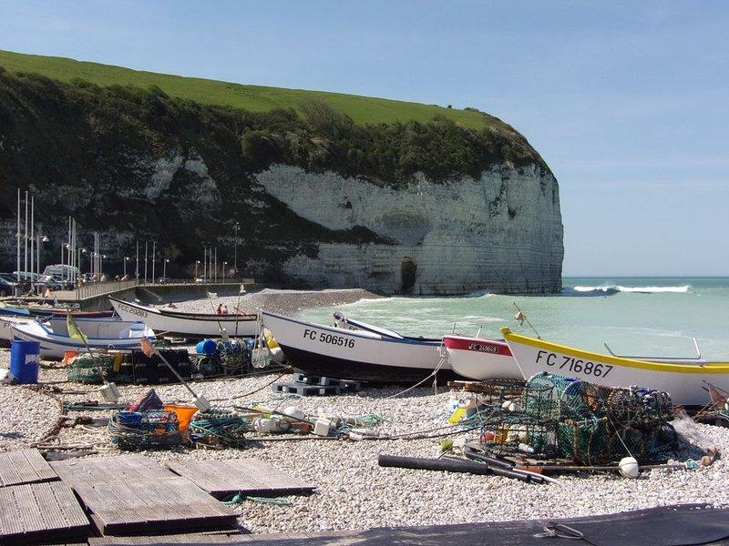 MAISON A YPORT à 50 m de la plage avec vue sur mer (jusqu'à 8 personnes), location de vacances à Saint-Leonard