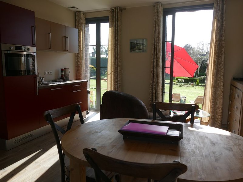 Gîte 'VEULES les ROSES' Villa ARGONNE, holiday rental in Quiberville