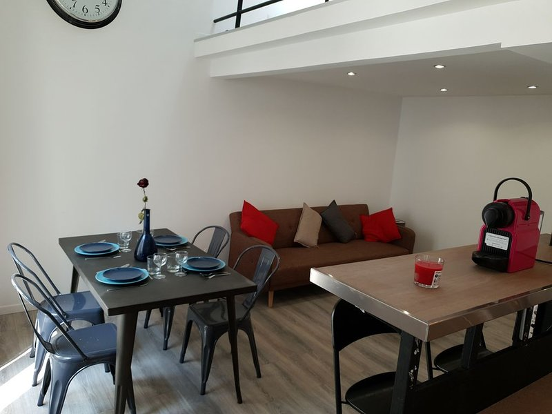 Appartement Loft 15min Disneyland Paris, vacation rental in Claye Souilly