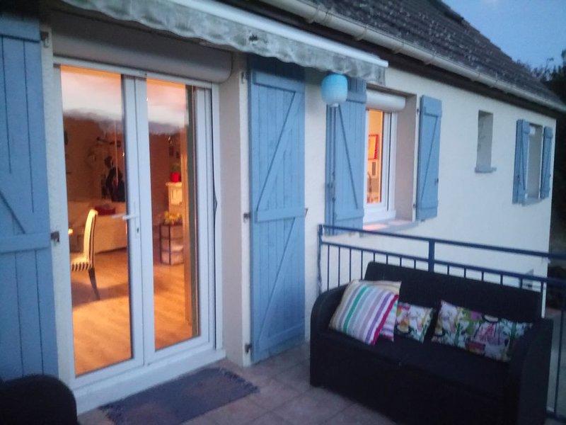 NEMOURS, 1H DE PARIS   AGREABLE MAISON 2 CHAMBRES, JARDIN, HALTE EUROVELO, holiday rental in Larchant