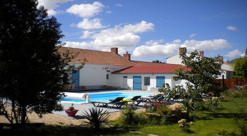 Le Clos de Vaulieu La Yole, vacation rental in Beauvoir-Sur-Mer
