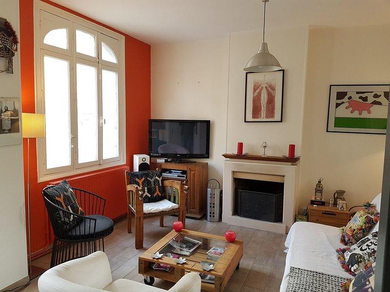 Maison familiale de caractère centre historique  de Fécamp - Normandie, location de vacances à Fecamp