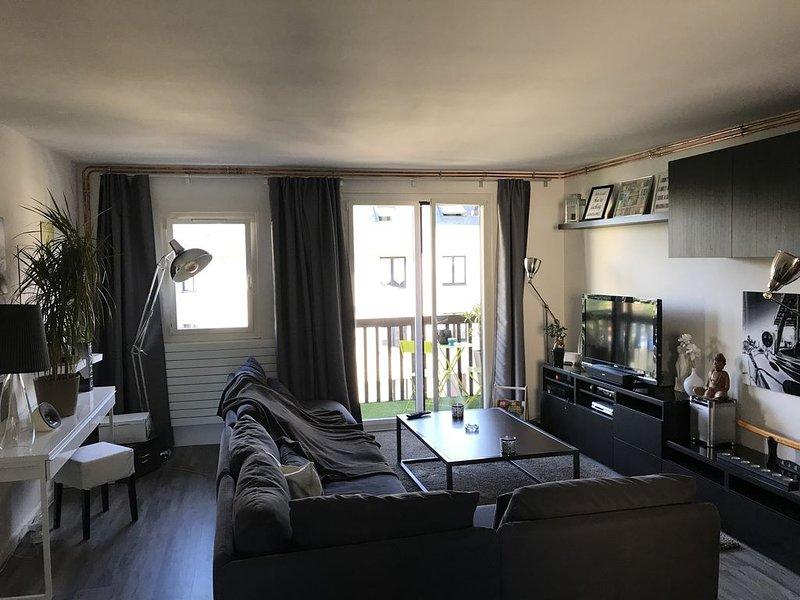 Grand appartement F2 a 2km de Deauville -Trouville, location de vacances à Saint-Gatien-des-Bois