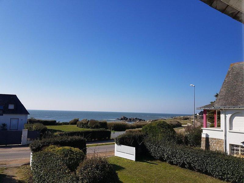 Villa sur la côte sauvage avec vue sur mer , à 10 minutes à vélo de la Baule, holiday rental in Le Pouliguen