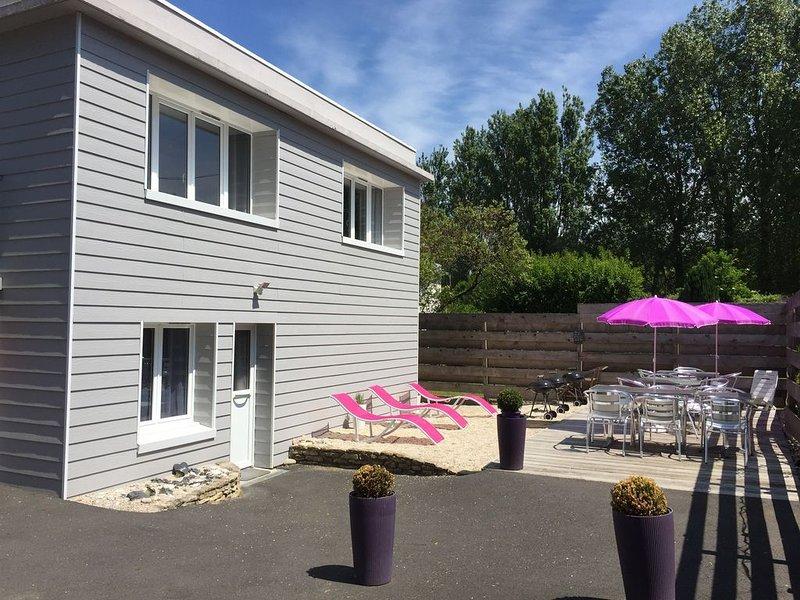 Gold beach: lodge 4/5p, location de vacances à Ver-sur-Mer