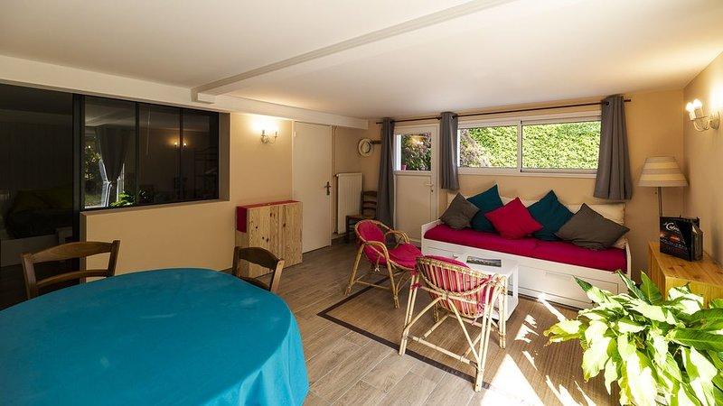 La Séraphina, 2 à 6 personnes, 5 min du Puy du Fou, location de vacances à Les Châtelliers-Châteaumur