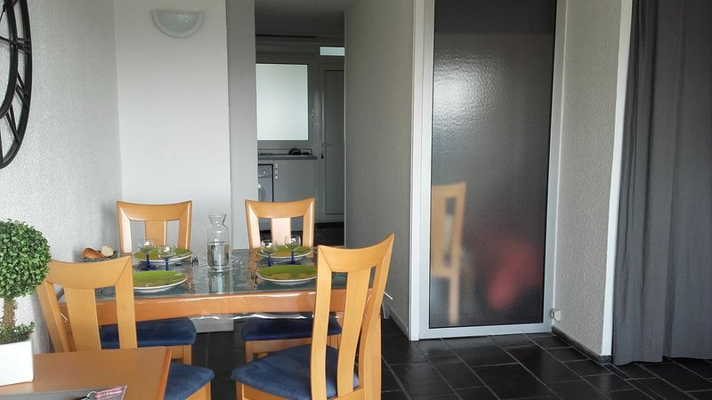 Location bel Appartement Morbihan Guidel-plages vue mer, vacation rental in Guidel